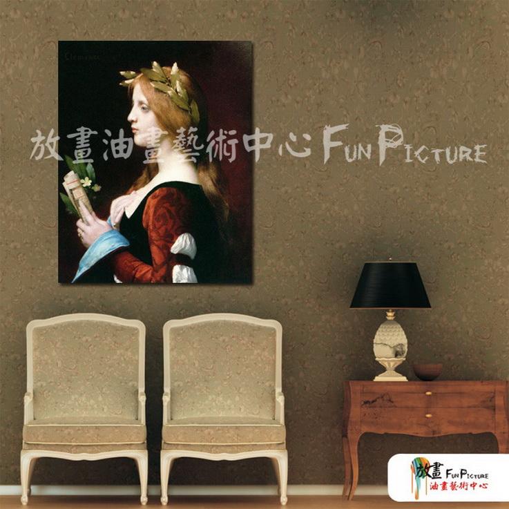 手绘酒店宾馆装饰画古典写实人物油画艺术 美女贵妇04 人高清图片