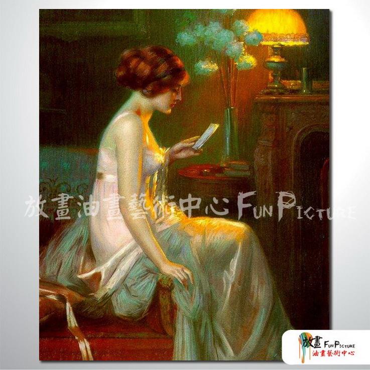 手绘酒店宾馆装饰画古典写实人物油画艺术 美女贵妇40 人高清图片