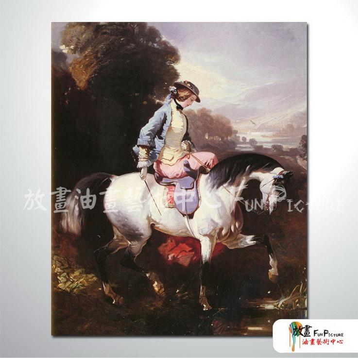 手绘酒店宾馆装饰画古典写实人物油画艺术品 美女贵妇53 高清图片
